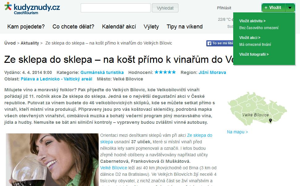 Ukázka KudyzNudy.cz