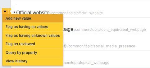 Přidávání informací k profilu